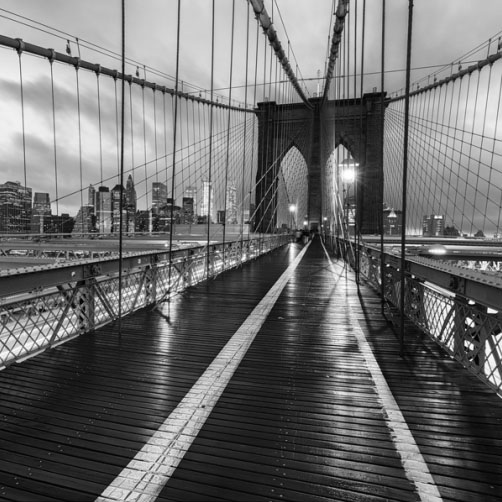 Fotografie – Lana na Brooklyn Bridge