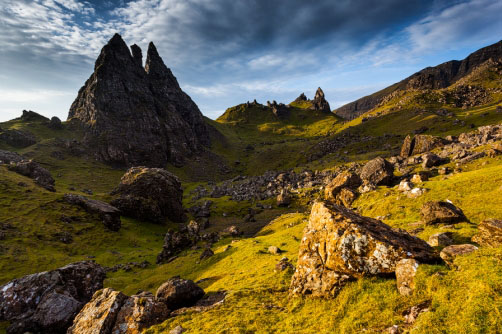 Old Man of Storr, ostrov Skye